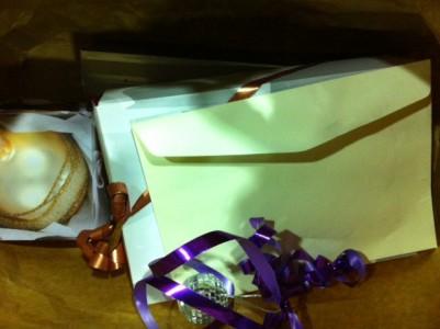 Den bruna papperspåsen som jag glömde på tåget den 20 december är upphittad och mot en avgift på 80 kronor avhämtad.