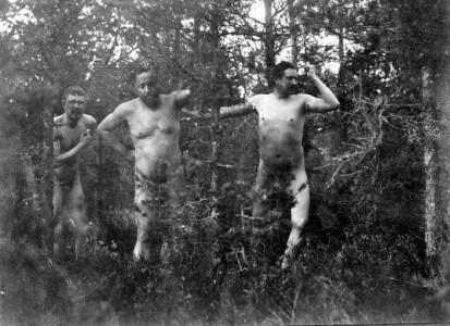 Bevis 2: Albert Engström, Fröding och Heidenstam.