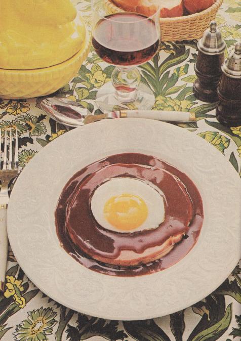 Ägg i madeirasås.