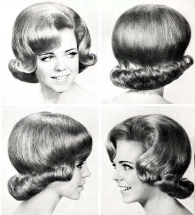 Hon hann till hårfrissan.
