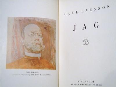 Carl Larsson dog 1919 – inte förrän tolv år senare kom memoarerna ut.