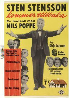 Sten Stensson kommer tillbaka (1963) Filmografinr 1963/17