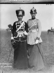 Viktoria Luise och kronprinsessan Cecilie.