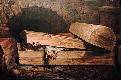 begravslevande