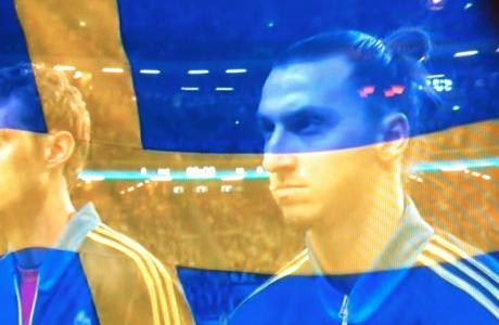 Medan Zlatan förberedde sig för mord. Eller nåt.