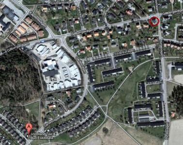 Ringen är där vi bor, bubblan är rätt adress på Tegvägen.