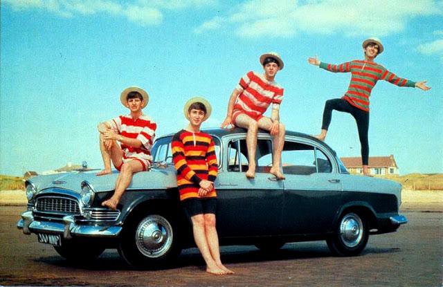 De riktiga Beatlarna.