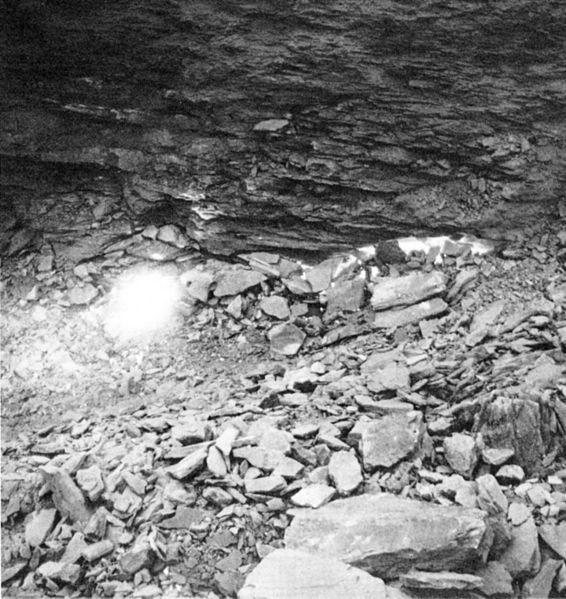 Här skymtas Centralia-elden på ett foto från 1969.