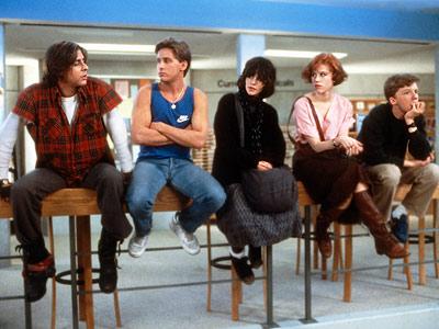 Jag var lika upprorisk som Molly Ringwald i Breakfast Club.