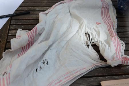 – Tänk att diskhandduken inte höll mer än drygt hundra år.