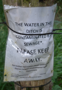 Vi hittade förgiftat vatten.