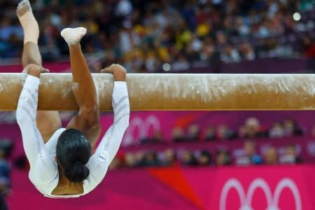 Precis så här gymnastisk var jag.