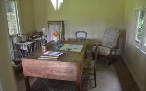 Virgina Woolfs room of her own, som faktiskt var en friggebod.