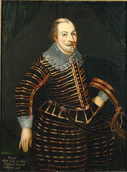 Karl IX med den mystiska frisyren.