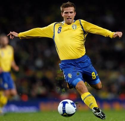 Man ser att han inte har ont i knäna, Anders Svensson.
