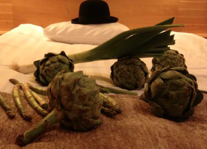 På detta Örebrohotell sov jag inatt.