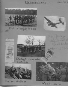 Mer ur farbror Stens album – här från 1943.