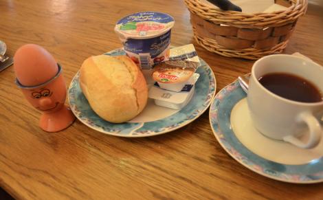 Det där till höger är faktiskt inte kaffe utan världens äckligaste te.