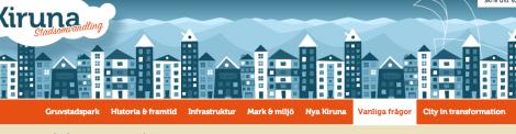 Så här ser Kiruna inte alls ut.