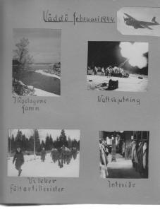 Titta, farbror Sten var också med om en smäll – på Väddö 1944.