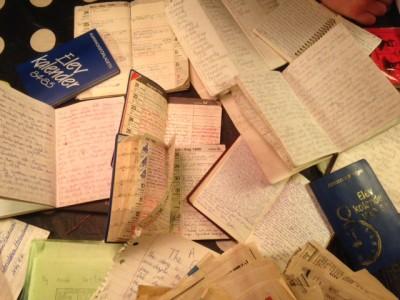 Almanackor, elevkalendrar och anteckningsböcker.