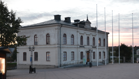 Härnösands polishus! Visst är det vackert om man jämför med alla andra polishus i Sverige?