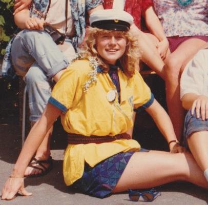 Jag, våren 1984.
