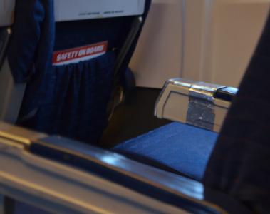 Förutom det faktum att jag för allra första gången åkte i ett flygplan som var lagat med silvertejp.