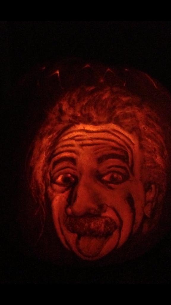 Einstein. Som pumpa.
