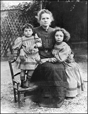 Éve, Marie och Irène 1904.