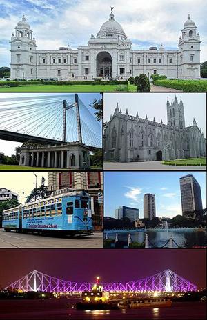 Så här ser Calcutta ut. Påminner ju om London och Washington säger min banala utrikeshjärna. (Bilden kommer från Wikipedia. Läs gärna texten här …)