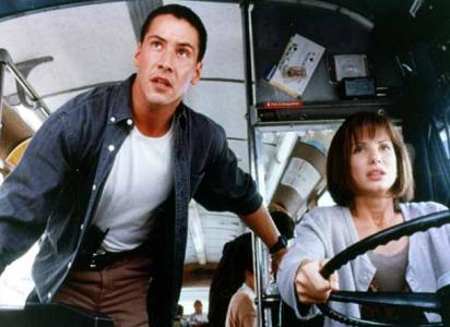 Så länge varken Keanu eller Sandra är inblandade i bussresor, brukar det ju gå bra.