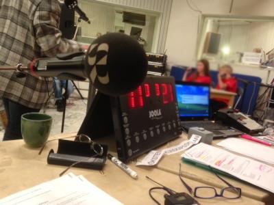 Just här är det lugnt: allt är rätt och radion spelar pausmusik.