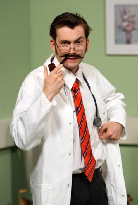 Jag hamnade hos en kardiolog som hade mustasch.