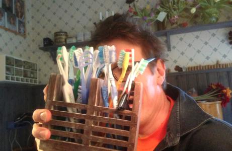 Pensionerar några tandborstar?