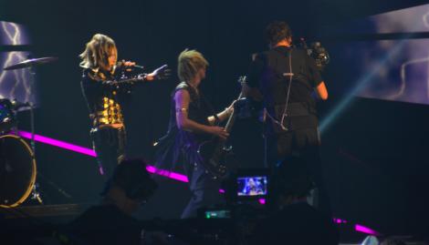 Yohio har såååååå många fans bland barnen. Alla var verkligen alldeles tokiga – jag hörde spridda gallskrik när han dök upp.