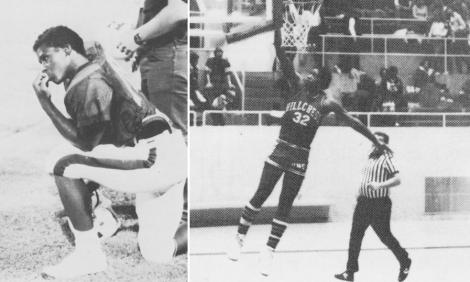 Arthur Muse spelade faktiskt både amerikansk fotboll och basket.